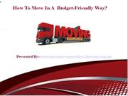 How To Move In A Budget-Friendly Way