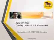 Liquors Module in Tally.ERP9