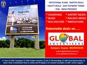 RAVI GROUPS Outdoor Hoarding Advertising Campaign Organised By GlobalA