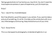 10_Tips_In_Better_Photography