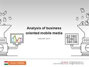 Analysis of business oriented mobile media