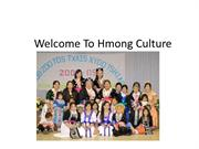 Welcome To Hmong Culture