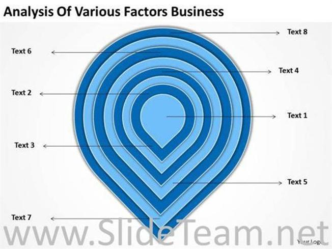 Concentric Layers Onion Diagram Powerpoint Diagram