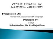 PUNJAB  COLLEGE  OF TECHNICAL  EDUCATION (Tries)