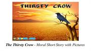 The Thirsty Crow Moral Story with Pictures