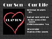 In Memory of Our CLAYTON!