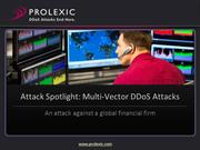 Prolexic DDoS Attack Report:  A Multi-Vector DDoS Attack Spotlight
