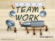 Team Work By KIRAN H