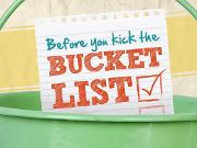 Before You Kick the Bucket List by @annafuji