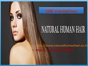 Natural Human Hair Exporter in India