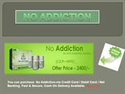 no addiction ppt