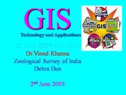 GIS- Technology and Applications