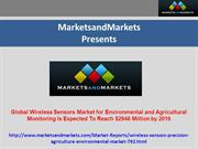 Wireless Sensors Market