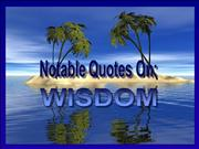Nubia_group_notable quotes on wisdom