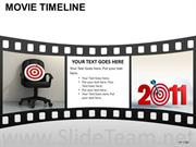 Movie Style Time Line Diagram
