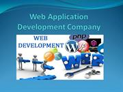 Web Application Development Company
