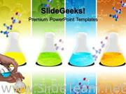 LABORATARY FLASKS SCIENCE POWERPOINT BACKGROUND