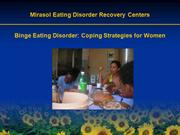 Binge eating disorder: Coping Strategies for Women