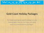 Gold Coast Accommodation Packages