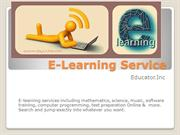 E-Learning Service- educator.com