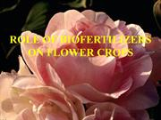 ROLE OF BIOFERTILIZERS ON FLOWER CROPS