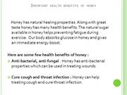 Health Benefits Of Honey On Face