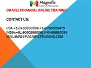 oracle financial onlinetraining