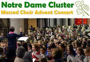 Notre Dame Cluster Sing Out