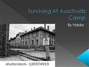 Surviving At Auschwitz Camp by Halda