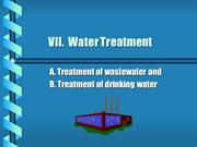 water treatment I