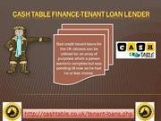 Cash Loans for Tenant| Unsecured Loans for Tenants