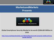Global Smartphone Security Market