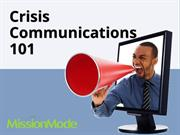 Crisis Communications 101: A Crash Course