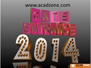 Tips & Books: How to Prepare for GATE 2014 Entrance Exam?