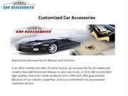 Truck and SUV Accessories Offered on CarAccessories.com Newly Designed