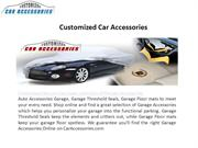 Garage Accessories Offered on CarAccessories.com Newly Designed Websit
