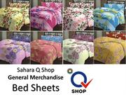 Sahara Q Shop General Merchandise Bed Sheets