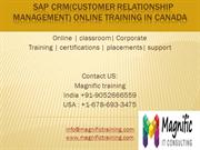 sap crm technical online training