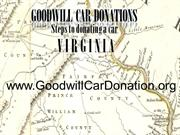 Goodwill Car Donations : Steps to donating a car Virginia