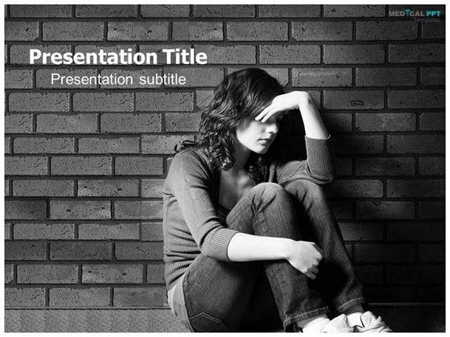 mental health ppt template free  Free Medical Powerpoint Templates |authorSTREAM