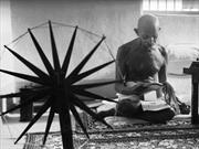 Mahatma Gandhi by Photographers Margaret Bourke-White and Henri Cartie