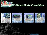Soda shop machine, soda machine, soda machine manufacturing