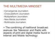 PP#3-The Multimedia Mindset (COMM 106) POWERPOINT