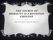 Emotional Empathy