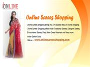 crepe sarees online at Online Sarees Shopping