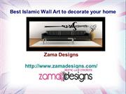 Best Islamic Wall Art to decorate your home