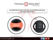 Exercise Medicine Ball With Comfortable Handles