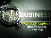 Mystery Shopping : Factors and working methodology