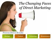 Changing Faces of Direct Marketing - EBriks Infotech