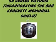 Crockett Shield Cricket Match - a South Australian Perspective